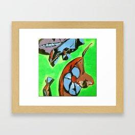 Lime Kool-Aid Framed Art Print