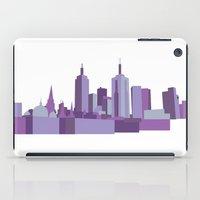 melbourne iPad Cases featuring Melbourne by S. Vaeth