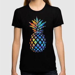 Watercolor and Splatter Pineapple I T-shirt