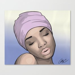 Chicks and Head Wraps 3 Canvas Print