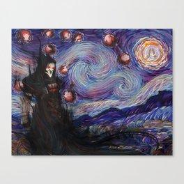 Death Night Blossom Canvas Print