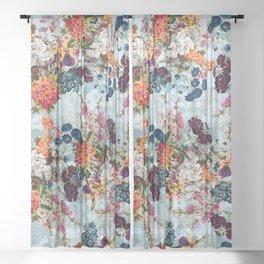 Summer Botanical Garden VIII Sheer Curtain