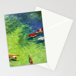 Fish watercolor IV Stationery Cards