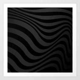 Dark Lines Art Print