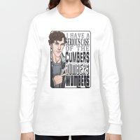 enerjax Long Sleeve T-shirts featuring CumbersBumbersWumbers by enerjax
