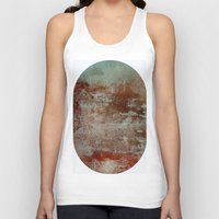 lake Tank Tops featuring lake by abstractgallery