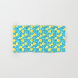 Blue Lemons Hand & Bath Towel