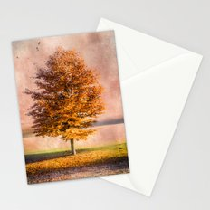 A sunny autumn day Stationery Cards