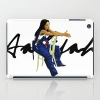 aaliyah iPad Cases featuring Aaliyah by MikeHanz