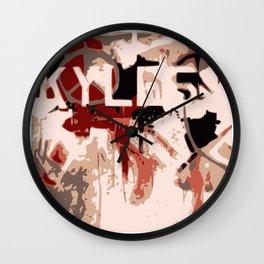 Kyle Graffiti Wall Clock