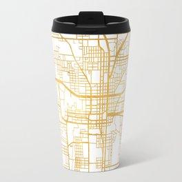 TALLAHASSEE FLORIDA CITY STREET MAP ART Travel Mug