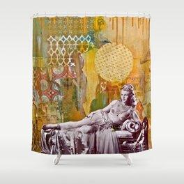Golden Slumbers Shower Curtain