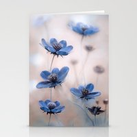 cosmos Stationery Cards featuring Cosmos by Mandy Disher