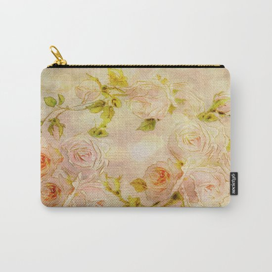Pink Rose Fantasy Carry-All Pouch