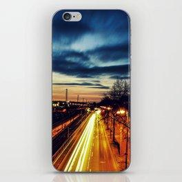 Burning Streets iPhone Skin
