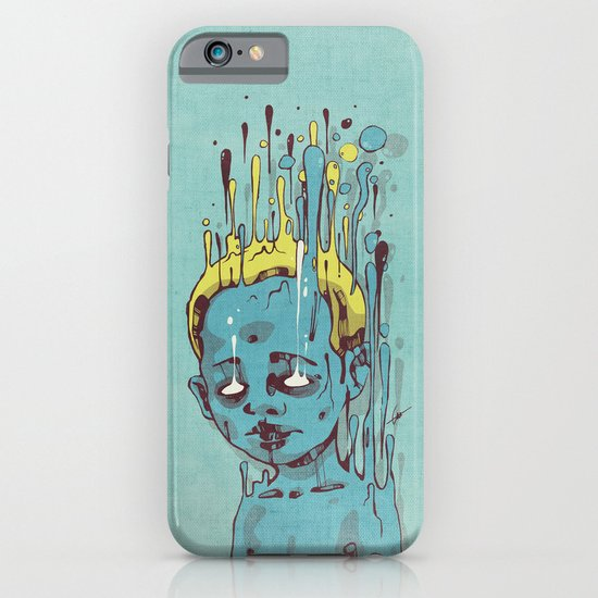 The Blue Boy with Golden Hair iPhone & iPod Case