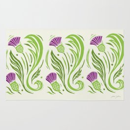 Thistles - Color PAttern Rug