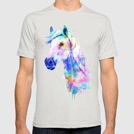 Horse Watercolor, Horse Print, Watercolor Print, Watercolor Animal, Horse Painting, Horse Gift Print T-shirt