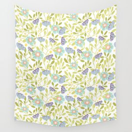 Sage and Poppy Wall Tapestry