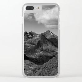The Cuillin Ridge III Clear iPhone Case