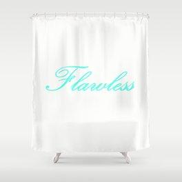 FlaWLESS Aqua Shower Curtain