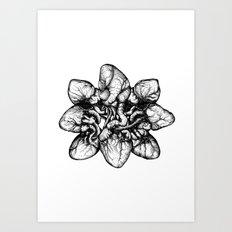 Bound: Hearts Art Print