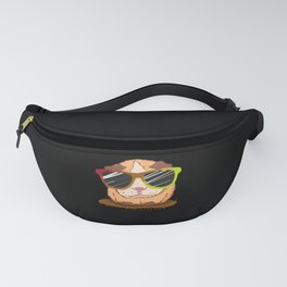Cool Guinea Pig with sunglasses Fanny Pack