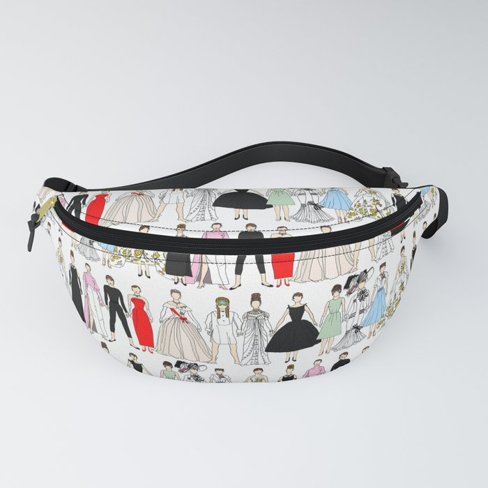 Outfits of Audrey Fashion (White) Fanny Pack