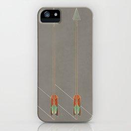 3 Arrows iPhone Case
