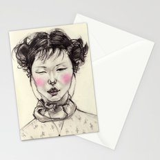 Chinese Girl Stationery Cards