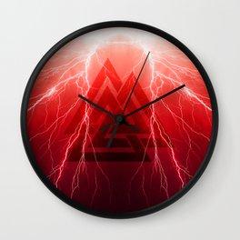 I Am The Storm Thor Odin's Son Valknut Thunder Wall Clock