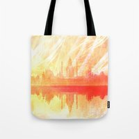 india Tote Bags featuring INDIA by Drexler3
