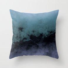 Zero Visibility Cut Throw Pillow