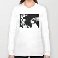 daisies Long Sleeve T-shirts featuring Daisies by Tia Hank