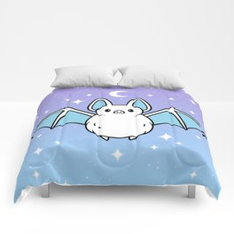 Cute Night Bat Comforters