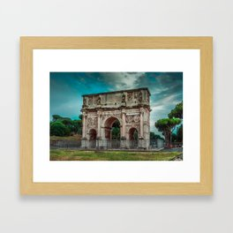 Arch of Constantine - Rome Framed Art Print