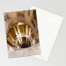 Borromini staircase, Barberini Palace, classical architecture, Roma, Museum in Rome, Bernini Stationery Cards