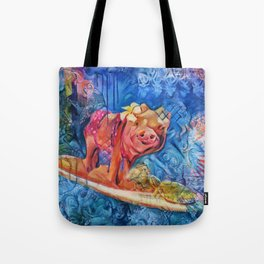 Beyond the Surf Tote Bag