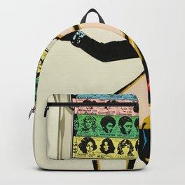 Vintage 1978 Rolling Stones - Some Girls - Concert Poster - Store Display Backpack