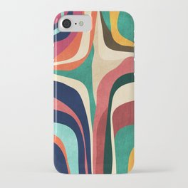 Impossible contour map iPhone Case