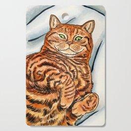 Ginger Cat Cutting Board