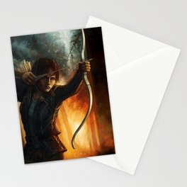 Katniss Everdeen Stationery Cards