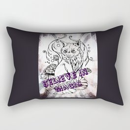 Kitsune Magic Rectangular Pillow
