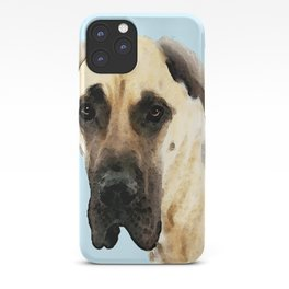 Great Dane Art - Dog Painting by Sharon Cummings iPhone Case