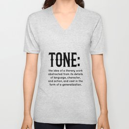 Tone defined Unisex V-Neck