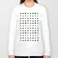 turtles Long Sleeve T-shirts featuring Turtles by AboveOrdinaryArts