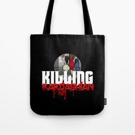 Killing Kardashian Sniper Logo Tote Bag