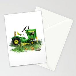 Tractor Bunnies Stationery Cards