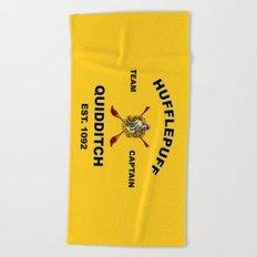 HUFFLEPUFF TEAM Beach Towel