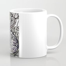 Shallow River Young Leaves Coffee Mug